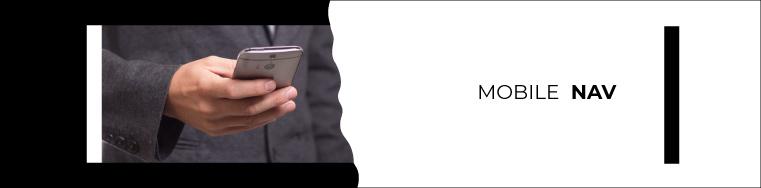thumb friendly mobile nav